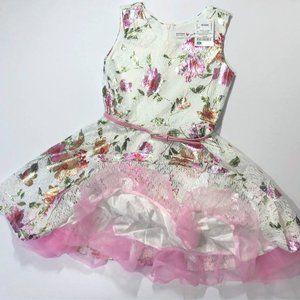 BNWT designer Beautees girls summer party dress la